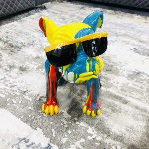 Colored Bull Dog