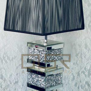 Crushed Diamond 3 Layer Lamp