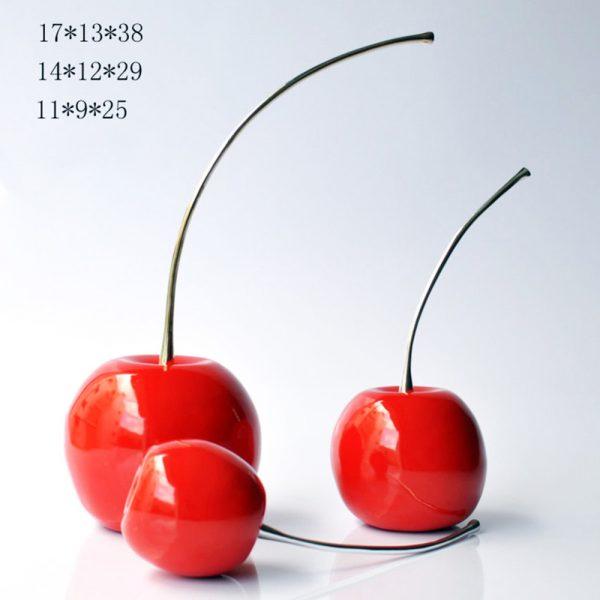 Cherry 3 Pcs Set Red