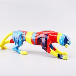 Multi Colour Leopard Small