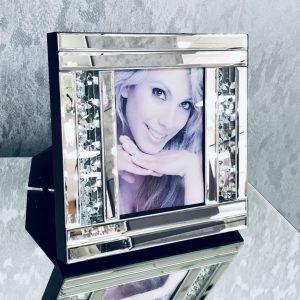Floating Crystal Photo Frame