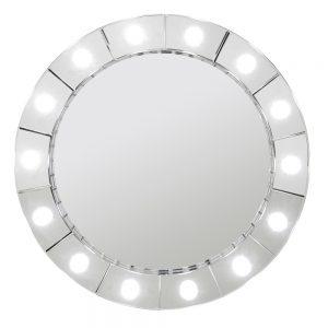 Hollywood Round Mirror