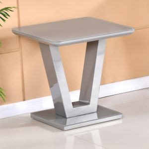 Tenerife Grey Lamp Table