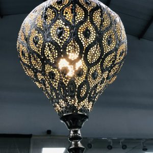 Metal Hanging Lamp Small