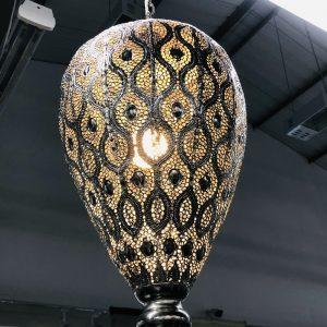 Metal Hanging Lamp Large